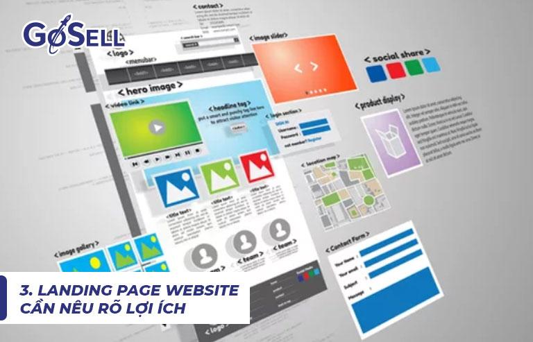 Landing Page website 4