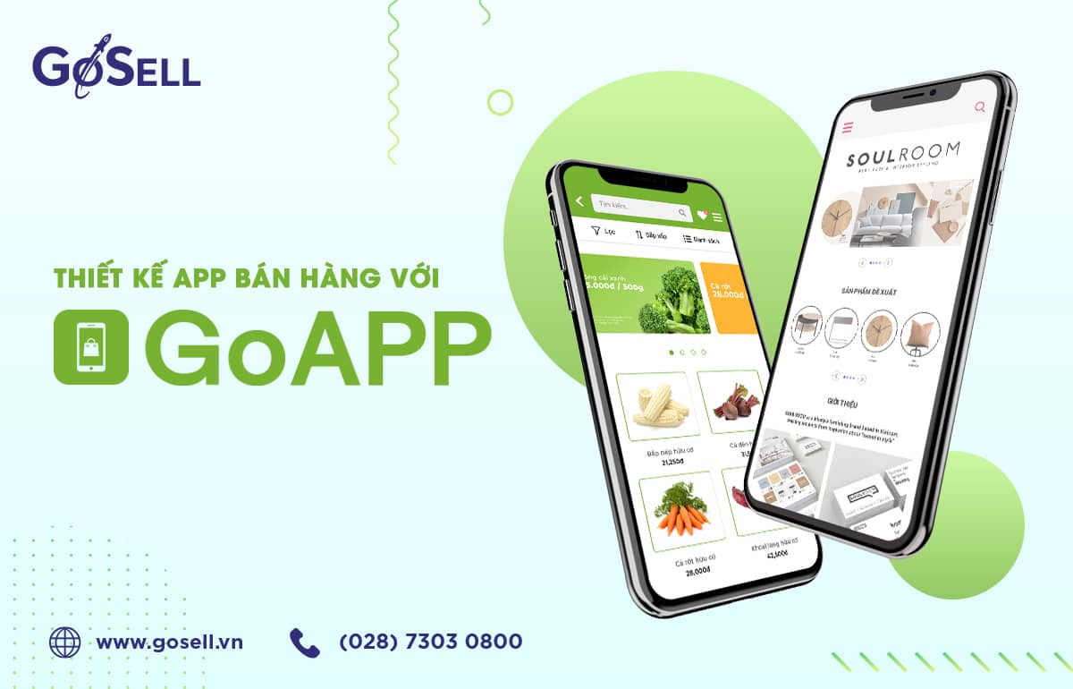 App bán hàng online uy tín - GoAPP