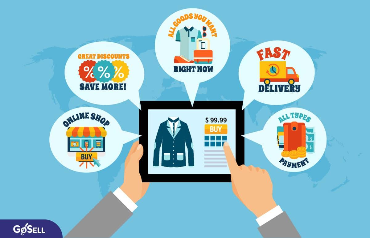 Thiết kế web bán hàng trực tuyến 2