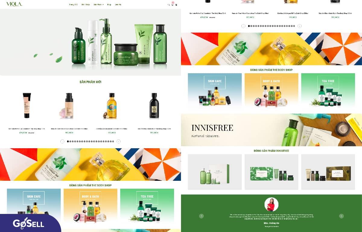 Thiết kế web bán hàng trực tuyến 3