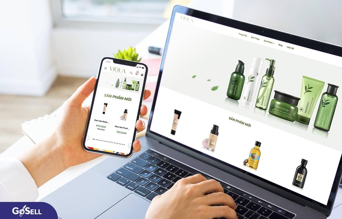Lý do nên thiết kế web bán hàng trực tuyến